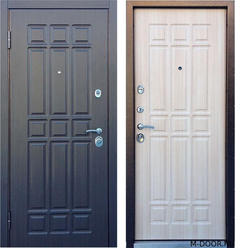Входная наружная дверь МДФ с двух сторон