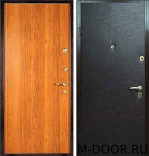Стальная дверь ламинат и винилискожа