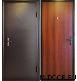Стальная дверь порошковое напыление и ламинат 3