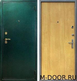 Железная дверь порошковое напыление и ламинат
