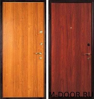 Стальная дверь с отделкой ламинат с двух сторон 3