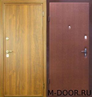 Металлическая дверь ламинат и винилискожа 5