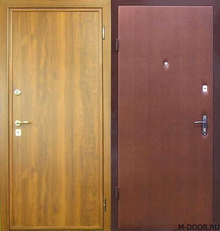 Металлическая дверь ламинат и винилискожа