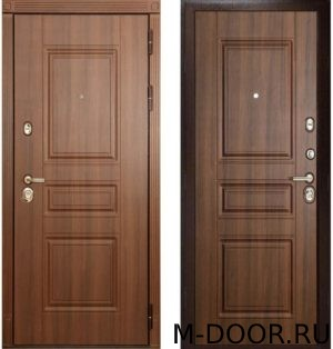 Металлическая дверь с отделкой массив 1