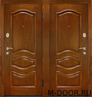 Железная дверь массив с двух сторон