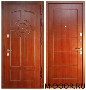 Железная дверь массив 3