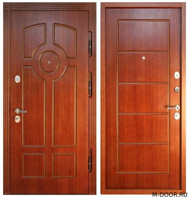 Железная дверь массив