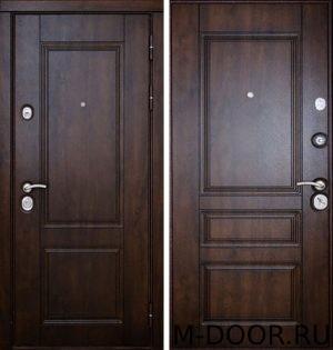 Стальная дверь с отделкой массив 4