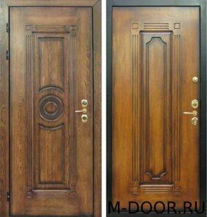 Стальная дверь массив с двух сторон 1