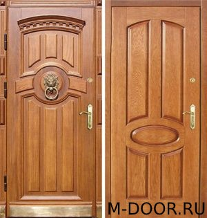 Металлическая дверь массив