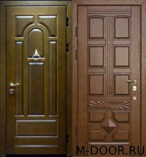 Стальная дверь массив 4