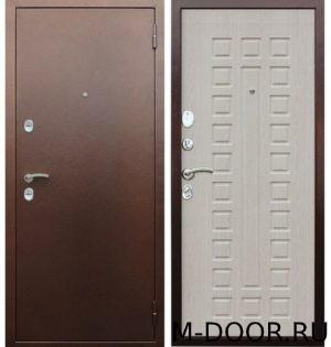Стальная дверь с отделкой порошковое напыление и МДФ 2
