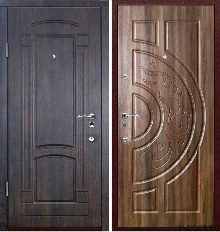 Стальная дверь с отделкой МДФ