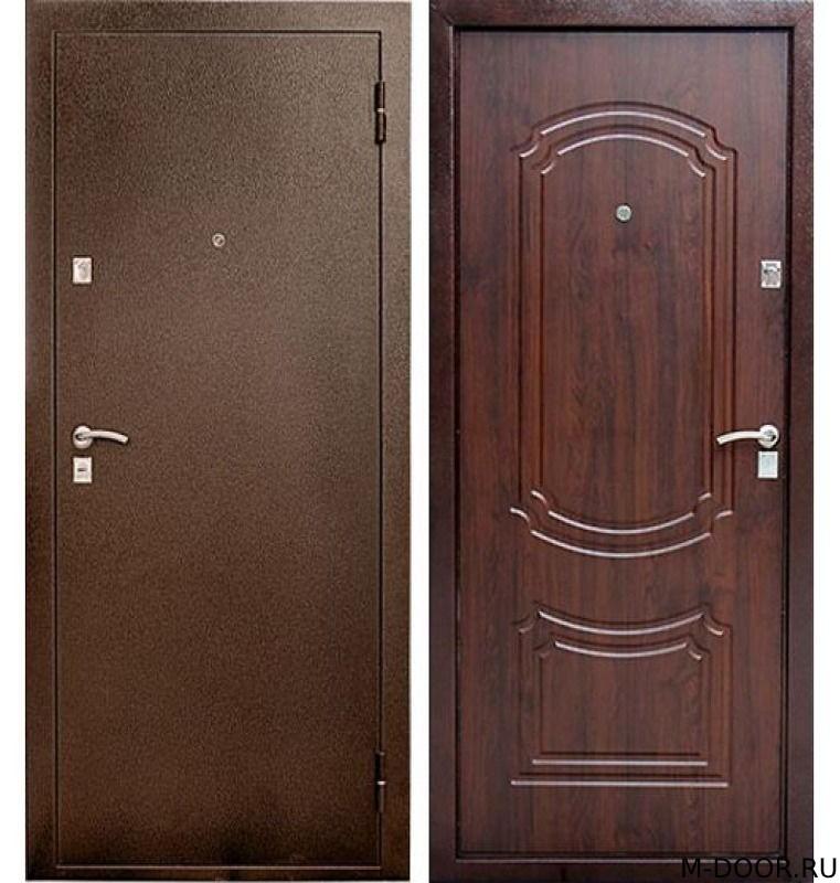 Стальная дверь порошковое напыление и МДФ (ПВХ)