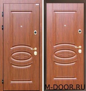 Стальная дверь с филенчатыми панелями 3