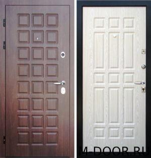 Стальная дверь филенчатая панель с двух сторон 1