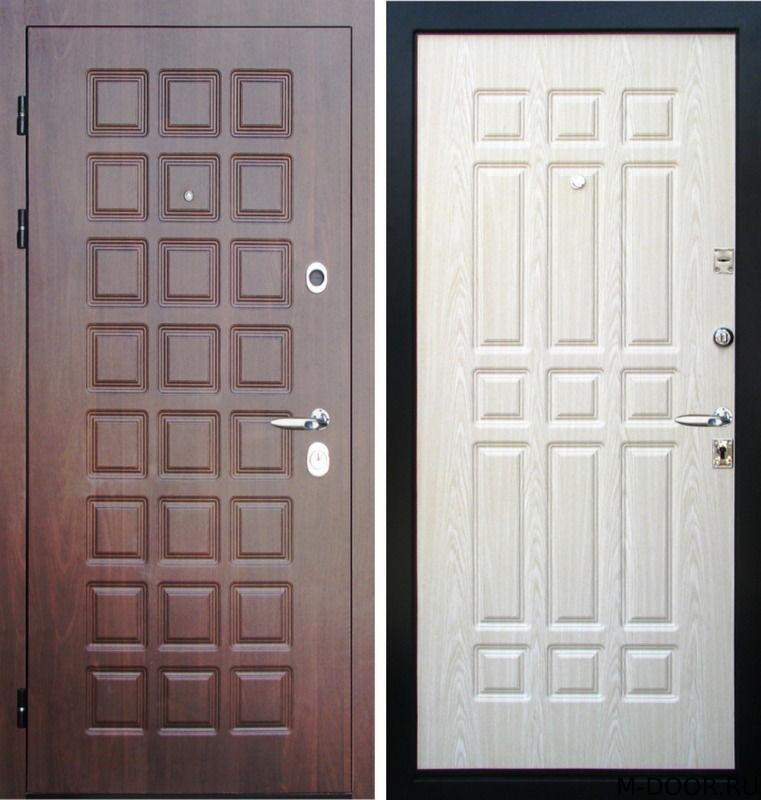 Стальная дверь филенчатая панель с двух сторон
