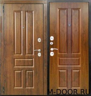 Металлическая дверь филенчатая панель двух сторон 5