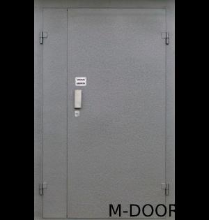 Металлическая дверь в подъезд с кодовым замком