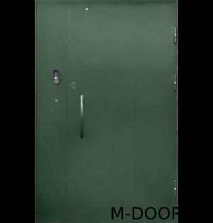 Металлическая дверь в подъезд с электромагнитным замком