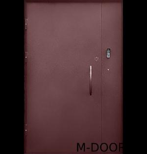 Стальная дверь в подъезд с электромагнитным замком