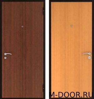 Стальная дверь в квартиру с отделкой ламинат с двух сторон 2