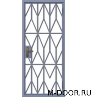 Решетчатая дверь РД-6 1