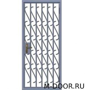 Решетчатая дверь РД-8 1