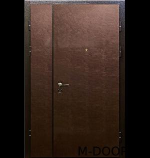 Металлическая тамбурная дверь с отделкой винилискожа