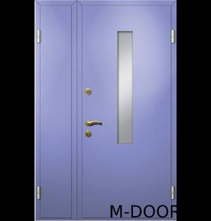 Тамбурная дверь со стеклом 4