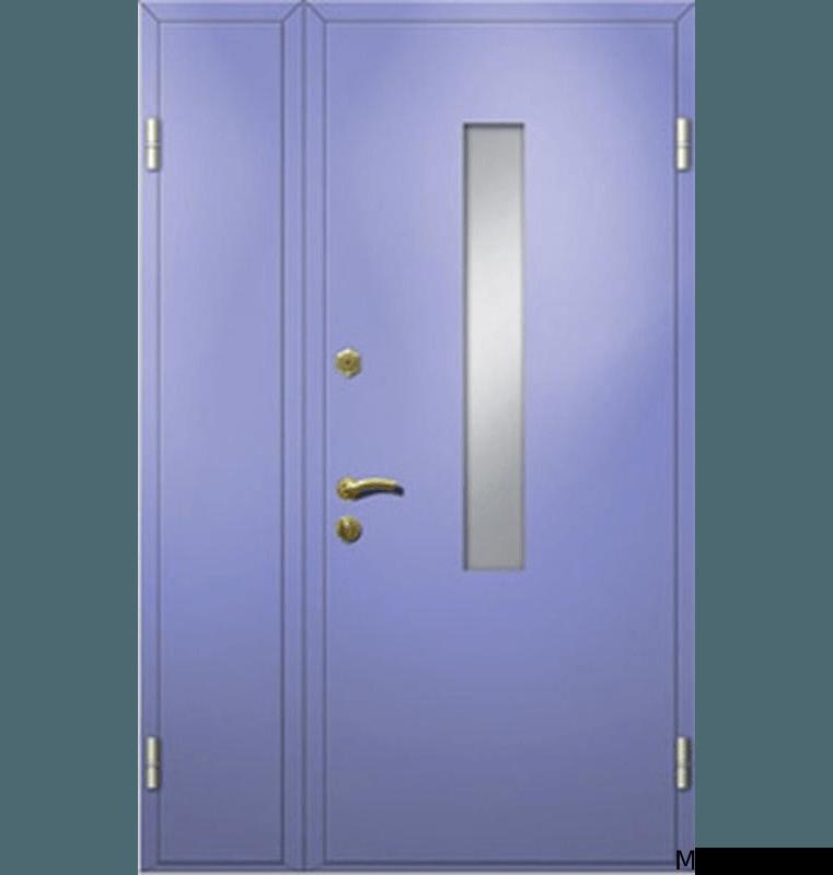 Тамбурная дверь со стеклом