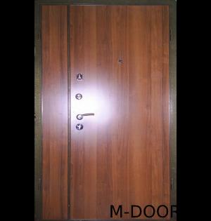 Входная тамбурная дверь с ламинатом и винилискожей