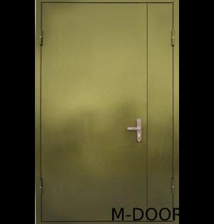 Входная тамбурная дверь порошковое напыление и винилискожа