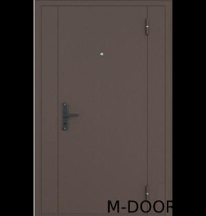 Стальная тамбурная дверь нитроэмаль и винилискожа