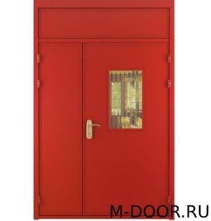 Техническая дверь вставка+стекло 7
