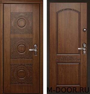 Стальная дверь с терморазрывом МДФ Винорит с двух сторон 2