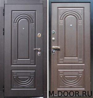 Входная стальная дверь с отделкой МДФ(ПВХ) с двух сторон 2