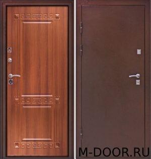 Стальная дверь с терморазрывом порошок и МДФ