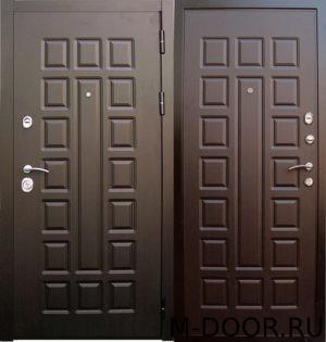 Металлическая дверь с терморазрывом МДФ Винорит 1