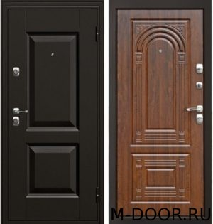Металлическая дверь с терморазрывом с отделкой МДФ Винорит