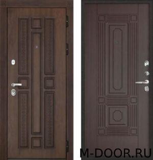 Металлическая дверь МДФ (Vinorit) 4