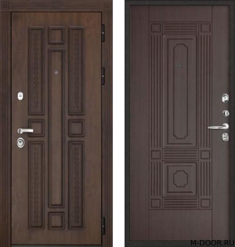 Металлическая дверь МДФ (Vinorit)