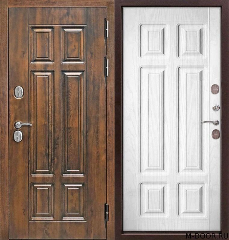 Стальная дверь с отделкой МДФ (Vinorit)