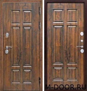 Стальная дверь МДФ (Vinorit) 4