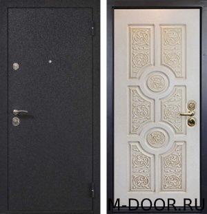 Железная дверь порошковое напыление и панель МДФ 3