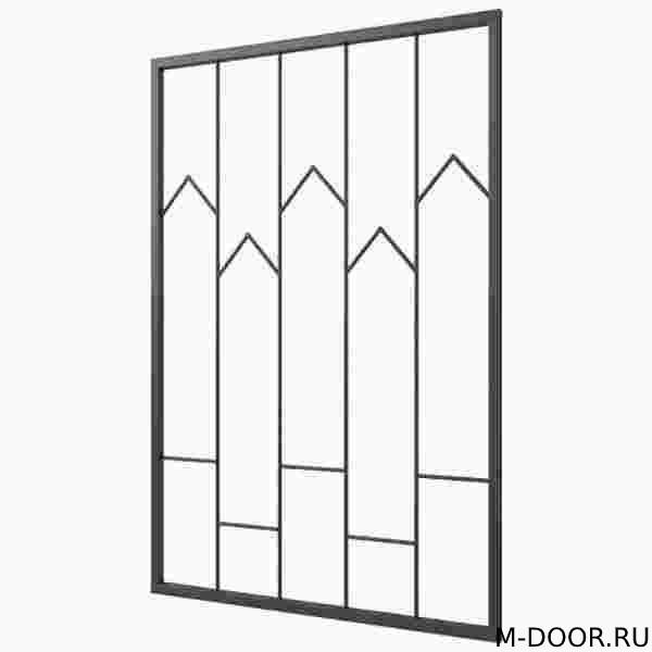 Сварная решетка на окна 002