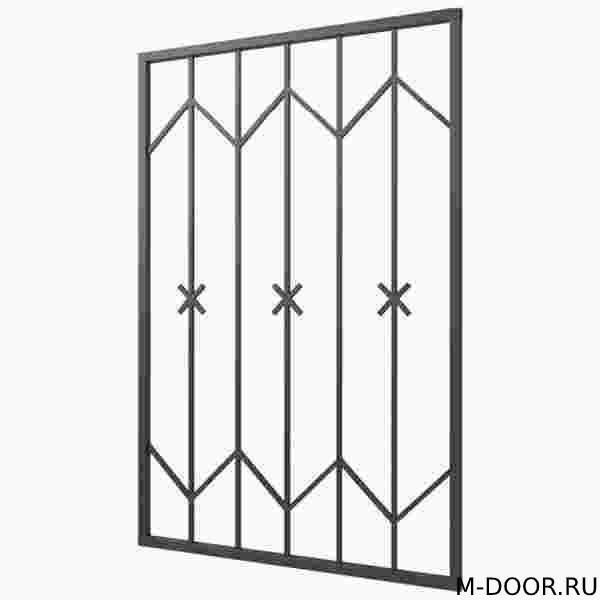Металлическая решетка на окна 011