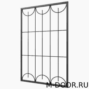 Железная решетка на окна купить на заказ недорого