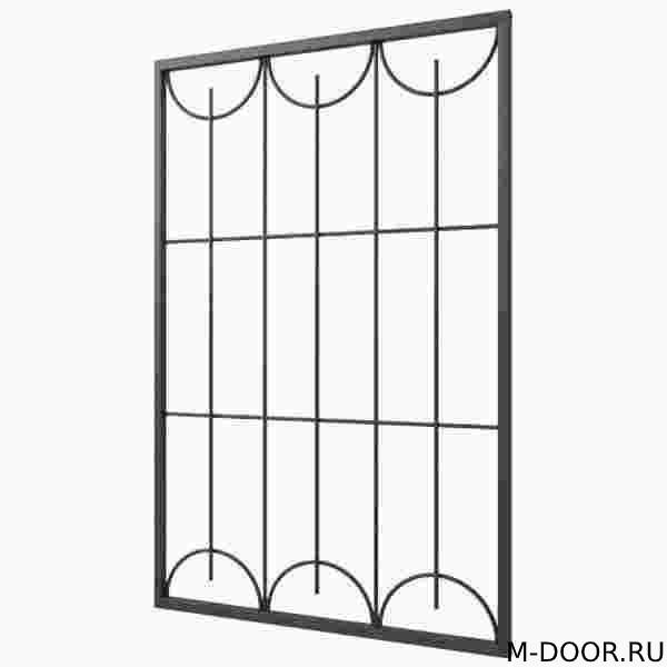 Железная решетка на окна 013