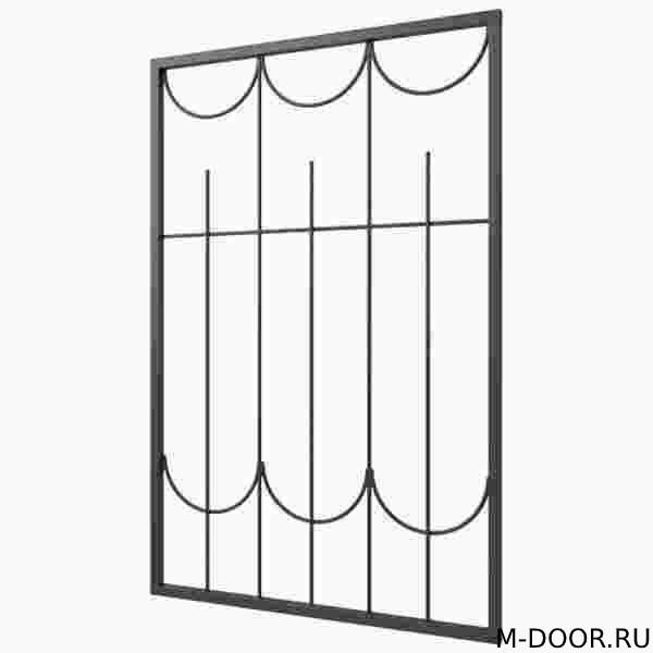 Металлическая оконная решетка купить на заказ недорого